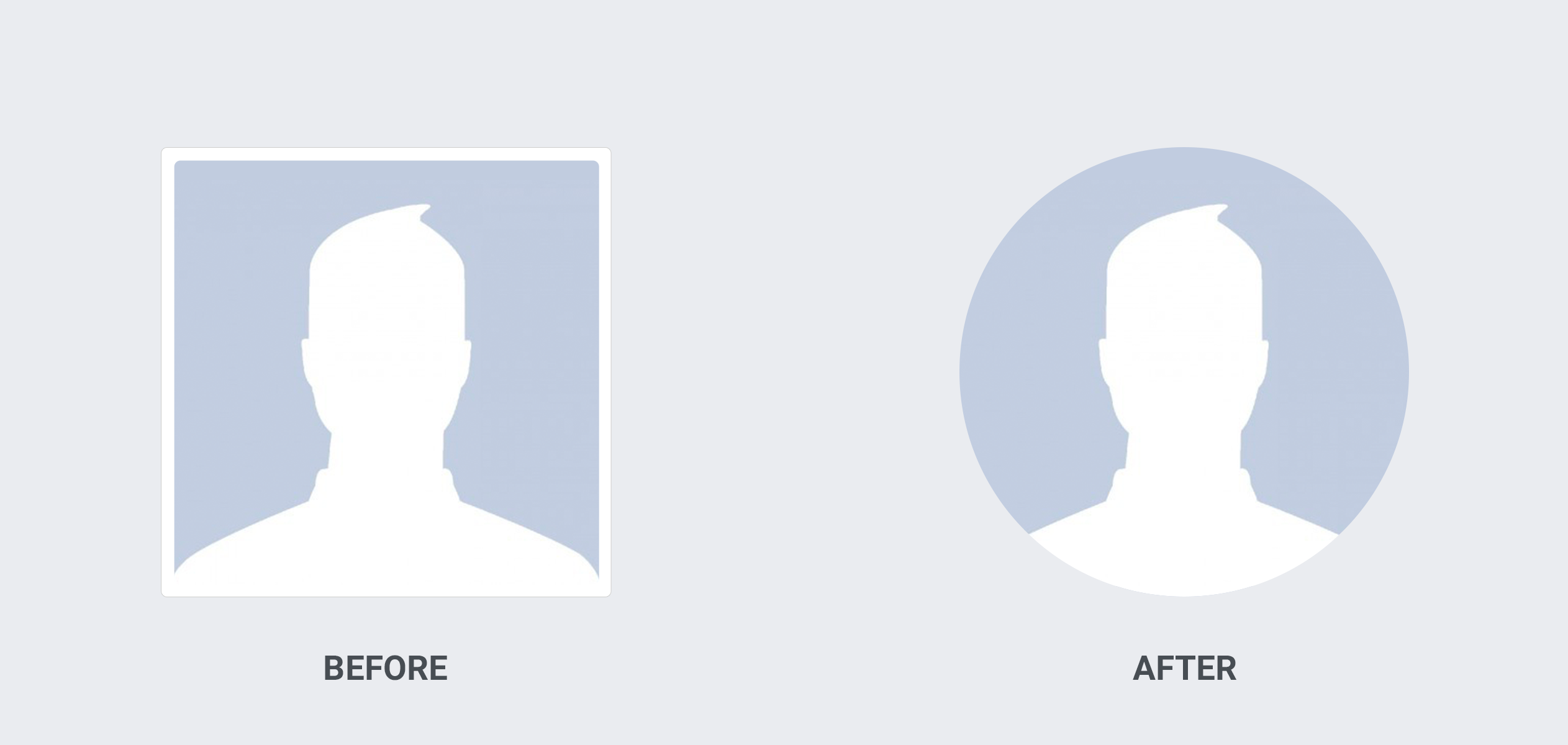 facebook profile picture differences